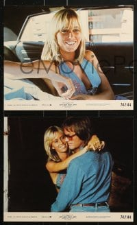 7d079 DIRTY MARY CRAZY LARRY 8 8x10 mini LCs 1974 great images of Peter Fonda & sexy Susan George!