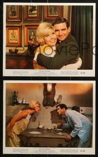 7d004 DO NOT DISTURB 12 color 8x10 stills 1965 Doris Day, Rod Taylor, romantic comedy!