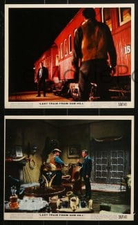 7d024 LAST TRAIN FROM GUN HILL 11 color 8x10 stills 1959 Kirk Douglas, Carolyn Jones, Sturges directs