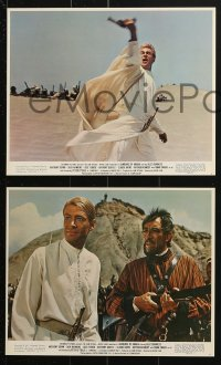 7d007 LAWRENCE OF ARABIA 12 color 8x10 stills R1971 David Lean classic starring Peter O'Toole, Best Picture!