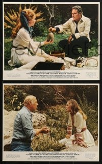 7d002 LOST HORIZON 14 color 8x10 stills 1972 Peter Finch, Liv Ullmann, George Kennedy, top cast!