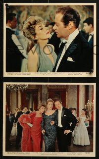 7d011 RELUCTANT DEBUTANTE 12 color 8x10 stills 1958 Rex Harrison & sexy grown up Sandra Dee, Saxon