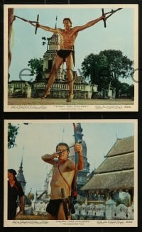 7d012 TARZAN'S THREE CHALLENGES 12 color 8x10 stills 1963 Edgar Rice Burroughs, Mahoney, Strode!