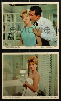 7d016 WHEELER DEALERS 12 color 8x10 stills 1963 James Garner, Lee Remick, Pat Crowley!