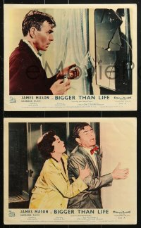 7d059 BIGGER THAN LIFE 8 color English FOH LCs 1956 James Mason is prescribed Cortisone & becomes addicted!
