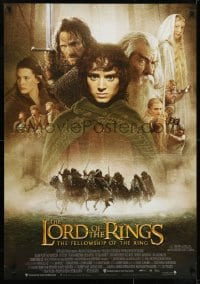 7f046 LORD OF THE RINGS: THE FELLOWSHIP OF THE RING Aust 1sh 2001 Tolkien, Peter Jackson!