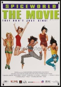7f049 SPICE WORLD Aust 1sh 1998 Spice Girls, Victoria Beckham, English pop musi, Le Film!