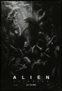7f022 ALIEN COVENANT style C teaser DS Canadian 1sh 2017 Ridley Scott, incredible sci-fi image!