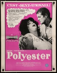 7f020 POLYESTER Canadian 1981 John Waters, Divine, Tab Hunter, filmed in Odorama!