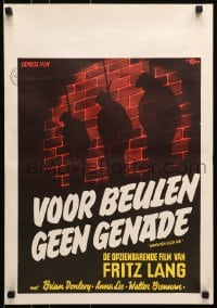 7f001 HANGMEN ALSO DIE Dutch 1940s directed by Fritz Lang, Brian Donlevy, art of hanged men!