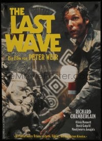 7f018 LAST WAVE Swiss 1977 Peter Weir cult classic, different image of Richard Chamberlain!