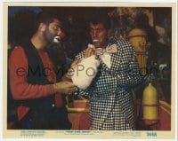 7h001 3 RING CIRCUS color 8x10 still 1954 Dean Martin taking cotton candy from clown Jerry Lewis!