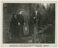 7h049 ABBOTT & COSTELLO MEET FRANKENSTEIN 8.25x10 still R1956 best image of Bela Lugosi & Strange!