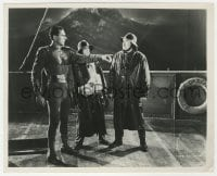 7h053 ADVENTURES OF CAPTAIN MARVEL chapter 10 8x10 still R1953 Tom Tyler in costume on Doom Ship!