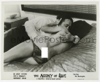 7h058 AGONY OF LOVE 8x10 still 1966 an adult venture into a woman's innermost being!