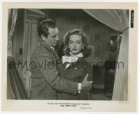 7h066 ALL ABOUT EVE 8.25x10 still 1950 Gary Merrill comforts Bette Davis, who is too old at 40!