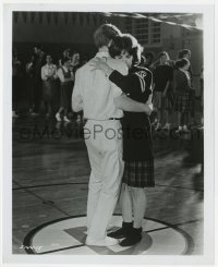 7h070 AMERICAN GRAFFITI 8.25x10 still 1973 Ron Howard & Cindy Williams at dance, George Lucas
