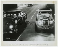 7h069 AMERICAN GRAFFITI 8.25x10 still 1973 George Lucas, great image of hot rods cruising the strip!