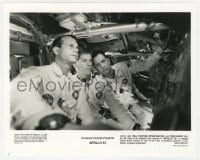 7h094 APOLLO 13 8x10 still 1995 Tom Hanks, Bill Baxton & Kevin Bacon, the ill-fated lunar mission!