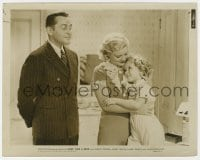 7h100 BABY TAKE A BOW 8x10 still 1934 James Dunne smiles at Shirley Temple hugging Claire Trevor!