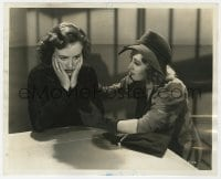 7h101 BACK IN CIRCULATION 8x10 still 1937 Joan Blondell & Margaret Lindsay involved in mystery!