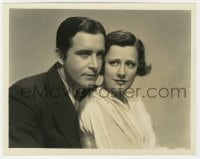 7h102 BACK STREET deluxe 8x10 still 1932 close up of John Boles & pretty Irene Dunne by Freulich!