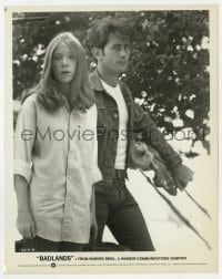 7h103 BADLANDS 8x10.25 still 1974 Terence Malick's cult classic, Martin Sheen & Sissy Spacek!