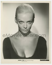 7h110 BARBARA STEELE 8x10 still 1960 with dyed blonde hair cast in Flaming Star, but she was cut!