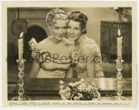 7h115 BECKY SHARP 8x10.25 still 1935 great smiling close up of Miriam Hopkins & Frances Dee!