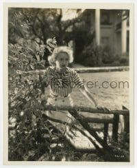 7h125 BETTE DAVIS 8x10 still 1932 great close up from Cabin in the Cotton by Irving Lippman!