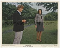 7h006 BLOW-UP color 8x10 still 1967 David Hemmings, Vanessa Redgrave, Michelangelo Antonioni!