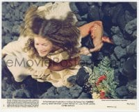 7h009 CARRIE 8x10 mini LC #1 1976 Stephen King, Amy Irving, best card with ending spoiler!