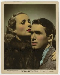 7h024 MADE FOR EACH OTHER color-glos 8x10 still 1939 best c/u of Carole Lombard & James Stewart!
