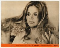 7h043 WICKER MAN 8x10 mini LC #2 1974 close up of beautiful Britt Ekland, cult horror classic!