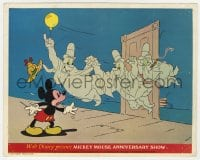 7h026 MICKEY MOUSE ANNIVERSARY SHOW color English FOH LC 1968 he's a detective terrorized by ghosts!