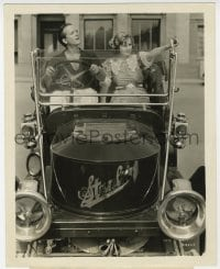 7h059 AH WILDERNESS 8x10 still 1935 great image of Cecilia Parker & Eric Linden in Stanley car!