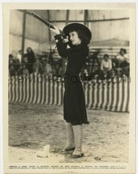 7h092 ANNIE OAKLEY 8x10.25 still 1935 Barbara Stanwyck, greatest woman rifle shot of all time!