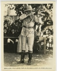 7h093 ANNIE OAKLEY 8x10.25 still 1935 Preston Foster as the sharpshooting Toby Walker with rifle!