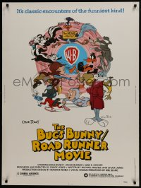 7k032 BUGS BUNNY & ROAD RUNNER MOVIE 30x40 1979 Looney Tunes, Chuck Jones classic comedy cartoon!