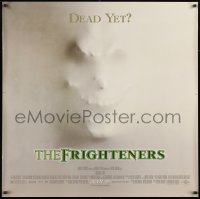 7k185 FRIGHTENERS advance DS 36x36 special poster 1996 Jackson, really cool skull horror image!