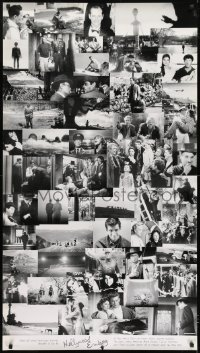 7k187 HOLLYWOOD ENDING 28x50 special poster 2002 Woody Allen, final frames from 52 different movies