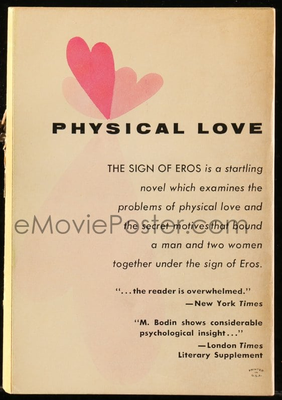 my eros is sign What