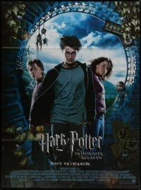 7y752 HARRY POTTER & THE PRISONER OF AZKABAN French 1p 2004 Daniel Radcliffe, Emma Watson, Grint