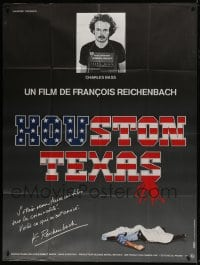 7y762 HOUSTON TEXAS French 1p 1983 Francois Reichenbach documentary about Charles Bass!