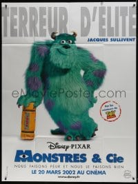 7y842 MONSTERS, INC. advance French 1p 2002 Disney & Pixar computer animated CGI cartoon, Sully!