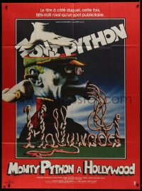 7y844 MONTY PYTHON LIVE AT THE HOLLYWOOD BOWL French 1p 1982 great wacky meat grinder image!