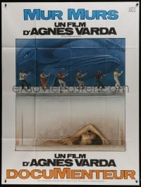 7y848 MURAL MURALS French 1p 1981 Agnes Varda's documentary about outdoor murals in Los Angeles!