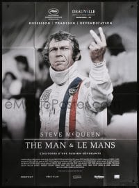 7y931 STEVE MCQUEEN THE MAN & LE MANS French 1p 2015 documentary about his car racing obsession!