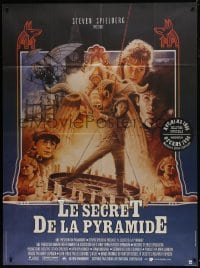 7y999 YOUNG SHERLOCK HOLMES French 1p 1986 Spielberg, Nicholas Rowe as the detective, Jouin art!