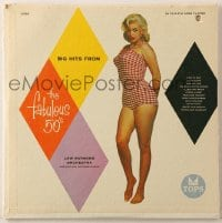 7y011 BIG HITS FROM THE FABULOUS '50S 33 1/3 RPM record 1957 sexy Jayne Mansfield, music by Lew Raymond Orchestra!